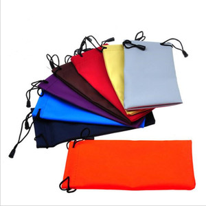 Wholesale Sunglasses Bags Cellphone Pouch Eyeglasses Drawstring Bag Glasses Case Waterproof Holder Soft Dust Pouch Carry Bag Eyewear Accessories B4925