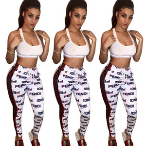 MH5908 European and American women's fashion high-end explosion models positioning printing lace sports pants women on Sale