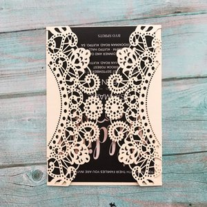 Wholesale covers pages for sale - Group buy 30Set Sky Wheel Wedding Invitations Cover Inner page Blessing Card Birthday Party Suplies Exquiiste Design Sculpture Invitations Card