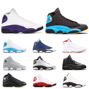 Wholesale Air Retro s Men Basketball Shoes COURT PURPLE Low Chutney Cap And Gown Black Cat hyper royal chicago Size