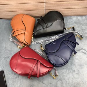 Wholesale Vintage Female Mini Saddle Bag Genuine Leather Women Shoulder Bags With Strap D Logo for Ladies Soft Leather Cross Body Tote Hot Sale