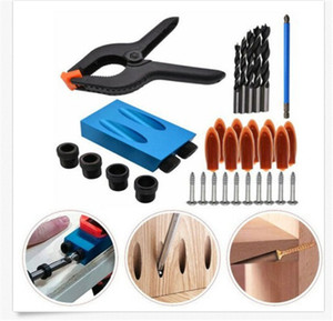 Woodworking Pocket Hole Screw Jig Adapter Drill Carpenters Wood Joint Tool