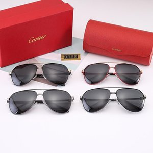 Luxury Sunglasses Polarizing Lens 0198 Stainless steel alloy Frame for Women Men Sunglasses For Birthday Chrismas New Year on Sale