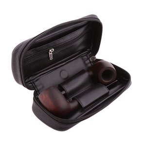 Wholesale PU Leather Combination Tobacco Pipe Package Storage Bag Smoking Accessories