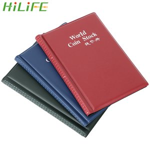 Wholesale HILIFE For Coin Holder Albums 120 Pockets Coins Collection Album Collecting Money Organizer Penny Coin Storage Bag