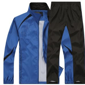 Wholesale Men s sports suit Factory Outlet running outdoor sports suit coat pants