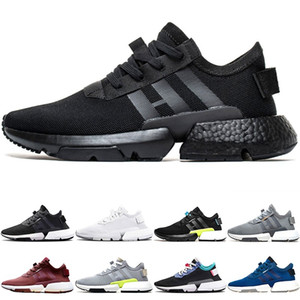Wholesale P O D S3 System Men Women Sport Running Shoes Triple Black White Blue Pod S3 Tennis Trainers Sneakers Size