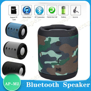 M2 Bluetooth speaker mini computer speakers subwoofer radio wireless portable sound box with mic Outdoor Bass Column Support TF