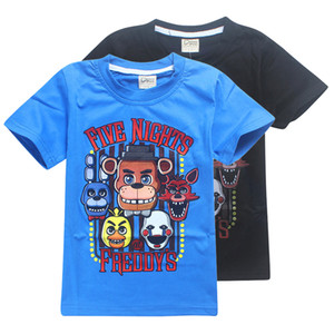 Wholesale fnaf 2 for sale - Group buy FNAF Kids Tee shirts Five Nights At Freddy Colors t Boys Cotton T shirts kids clothes SS214