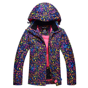 Skiing Jackets women Snowboarding jacket ski snow jackets winter outdoor Sportswear Warm Breathable Waterproof Waterproof