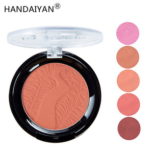 Handaiyan Maquillaje Blush 6 Color Option Long lasting Natural Brighten Skin Rouge Beauty Matte Makeup Blush