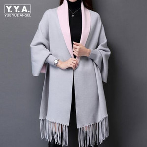 female batwing sleeve long maxi cardigan sweaters Winter women fall fashion Autumn winter warm knitted jumpers oversized