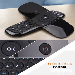 Wholesale Smart Keyboard Mini Wireless Mouse Keyboard IR Learning G With USB Receiver For Smart TV Box