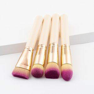 Wholesale makeup prom resale online - Women Ladies Professional Makeup Brushes Girls Lolita Masquerade Prom Party Cosmetic Face Powder Foundation Concealment Blush Brush