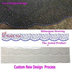 Custom New Design Motifs Hotfix Rhinestone Iron On Transfers Sticker PLS DON'T ORDER PAY BEFORE Discuss