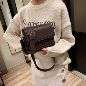 Wholesale Crossbody Bags For Women 2019 Simple Shoulder Messenger Bag Ladies Cross Body Bag PU Leather for Mobile Phone Shopping Travel Handbag