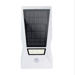 Wholesale New solar remote control wall lamp LED Waterproof garden light mAh lawn light LED street light