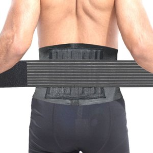 Wholesale Adjustable Sport Accessories Back Support Brace Belt Double Adjust Back Pain Relief Magnetic Therapy Waist Support For Gym