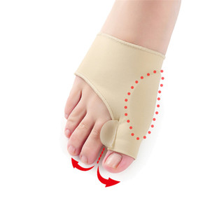 Wholesale feet bones toes resale online - Hot Hallux Valgus Braces Big Toe Orthopedic Correction Socks Toes Separator Feet Care Pain Protect Relieve Bone Thumb Sleeve