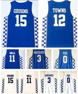 good price Kentucky College Trainers 1 BOOKER 23 DAVIS Basketball jerseys shirts,MENS 3 ADEBAYO 11WALL 0 FOX 12 Towns online store for sale