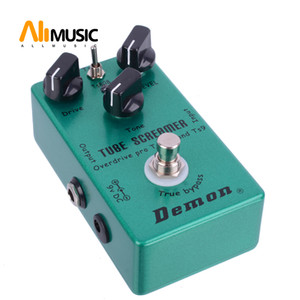 Guitar Effect Pedal Overdrive Vintage Demon TS808 Electric Guitar Pedal Free shipping MU0371
