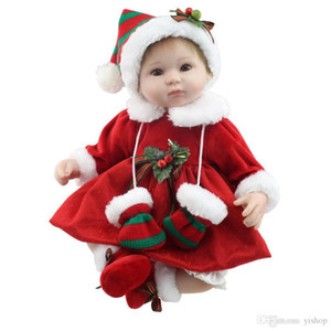 42cm NPK Lovely Simulation Baby Toy High Grade Soft Silicone Lifelike Full Body Newborn Doll Parenting Inafant Doll Toy Xmas gift