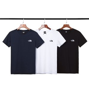 Wholesale 2019 new men s plain t shirt casual personality pure cotton round collar fashion breathable short sleeve t shirt