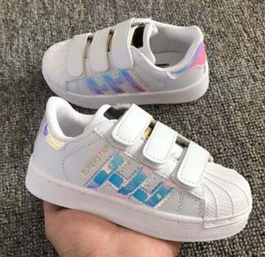 Wholesale 2020 Hot Sale Fashion baby Casual Shoes Superstar Female Sneakers kids Zapatillas Deportivas Mujer Lovers Sapatos Femininos