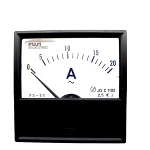 Wholesale Japan FUJI FS-60 AC ammeter 20A pointer mechanical head