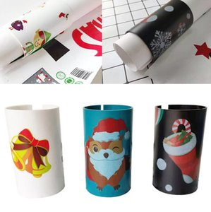 Christmas Wrapping Paper Cutter Santa Claus Paper Cutters Sliding Paper Roll Cutters Trimmer Tool for Christmas Sticker Papers GGA2882
