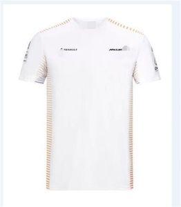 F1 McLaren McLaren McLaren 2020 Team T-shirt short sleeve team suit racing suit