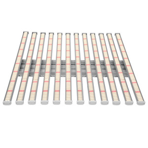 Wholesale growing lights resale online - 12bars w full spectrum Samsung led grow light bars for indoor growth and bloom