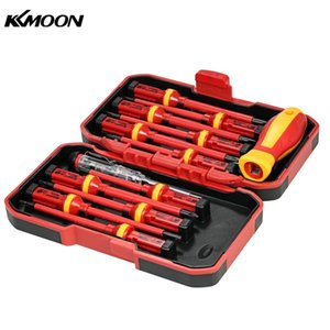Wholesale KKmoon 13pcs Insulated Screwdriver Set Microtech Phillips Slotted Torx Screwdriver 1000V Magnetic CR-V Multitul Hand Tools
