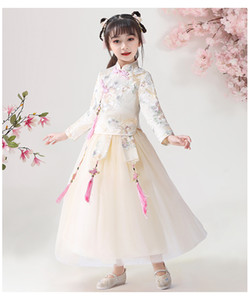 Linda2020 Triple S Baby & Kids Clothing NOT reaL yellow green Christening dresses DHL&EMS&Aramex Shipping For two