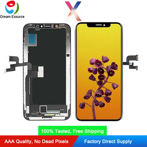 Premium Quality OLED Screen for iPhone X Hard OLED INCELL TFT Double COF Technology Display Assembly Perfect Touch & Free DHL shipping