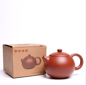 Wholesale purple sands Chinese teapot manufacturers direct Undressed ore production yixing teapot tea crafts gifts custom set hot sale