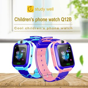 Wholesale Smart Watch with GPS GSM Locator Touch Screen Tracker SOS for Kids Children Hot