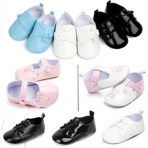 Wholesale Shoes Year Non slip Soft Bottom Baby Study Walking Shoes England Wind Small Leather Woman Princess Single Shoehorn