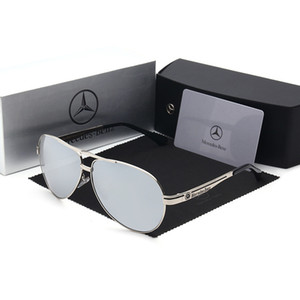 Brand Designer Cross-border hot sales style mercedes-benz auto sunglasses wholesale men's polarized driving glasses male 737