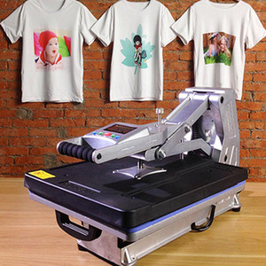 Free shipping ST-4050B 40x50CM T-shirt Sublimation Machine Without Hydraulic T shirt Heat Transfer Machine For Pillow Phone Case