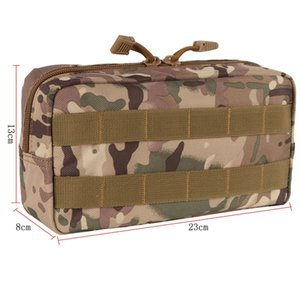 Outdoor Storage Gear Molle Pouch Military Tool Tactical Airsoft Vest Sundries Magazine Hunting Bags #359519