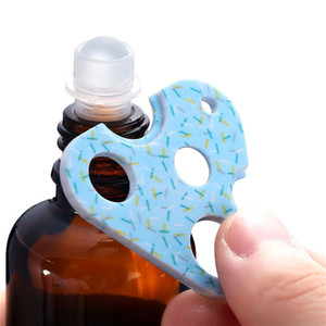 500pcs lot Triangle Bottle Swiss Key Roller Bottle Opener Remove Roller Caps Orifice Reducer Inserts on Essential Oils
