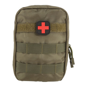 Wholesale Tactical Medical First Aid Kit Bag Molle Pouch Medical EMT Cover Emergency Military Package Outdoor Travel Hunting Utility