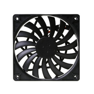 Scythe SY1212SL12H-P PWM Fan Cooler Ultra Thin Temperature Controlled Water Cooled Fans 12cm PWM Controlled Fan