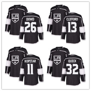 Wholesale custom 2019 Men's Kings 26 Slava Voynov 13 Kyle Clifford11 Anze Kopitar 32quick Fanatics Branded Black Breakaway Player women kids Jersey