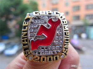 Wholesale Uphot Drop Shipping New Jersey Devils Stanley Cup Championship Ring Fan Men Gift