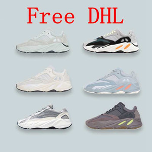 Free DHL With Box Inertia Geode Mauve 700 Sport Bowling Shoes Wave Runner Mens Women Designer Sneakers New 700 V2 Static salt West on Sale