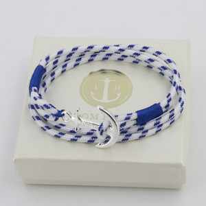 Wholesale TOM HOPE Bangle bracelet with box A quality enamel bangle dark blue pink blue color