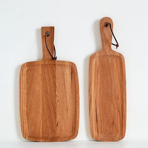 Wholesale Durable Wooden Chopping Blocks Hanging Cutting Board Cake Sushi Plate Serving Trays Bread Fruit Steak Dishes