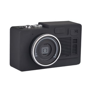 Wholesale 2019 Retro Camera Bluetooth Speaker Portable Mini Wireless Speakers Support TF Card Playing FM Radio Hands Free For PC Phones